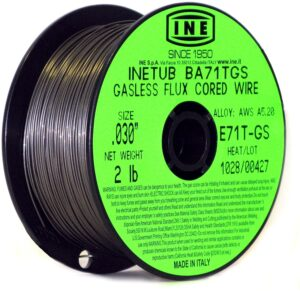 inetub flux cored welding wire