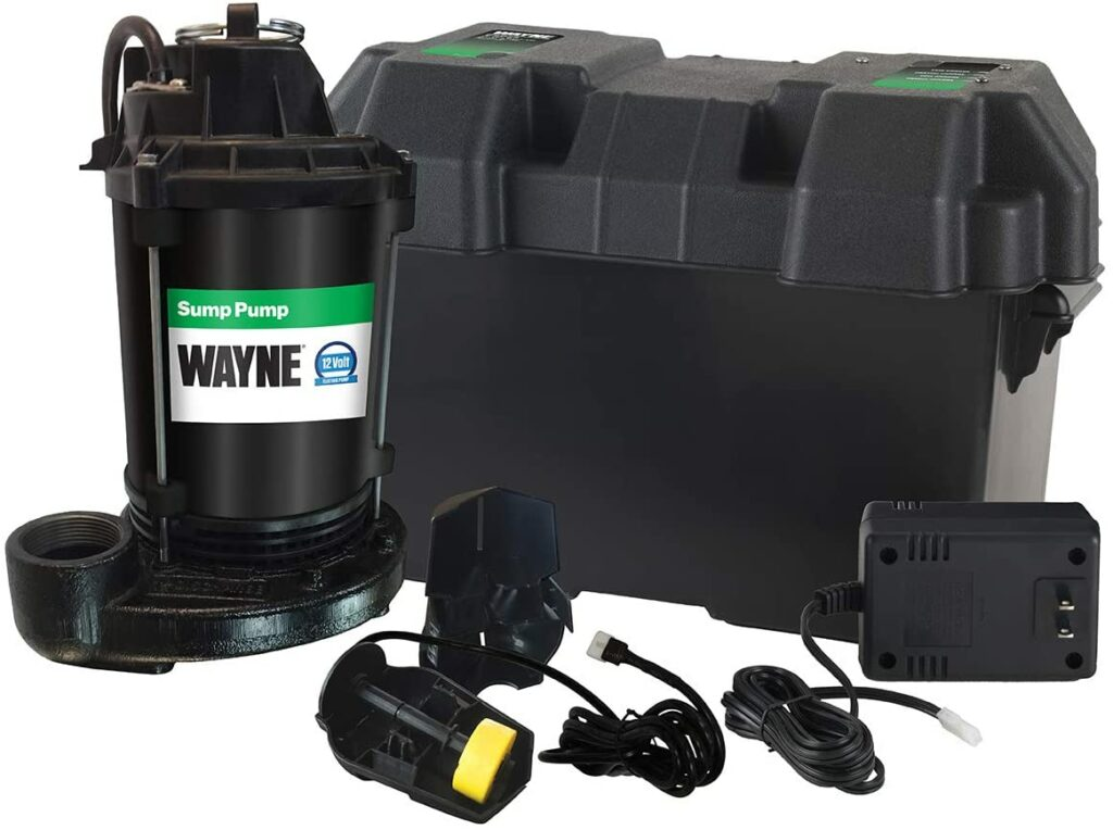 best battery powered backup sump pump
