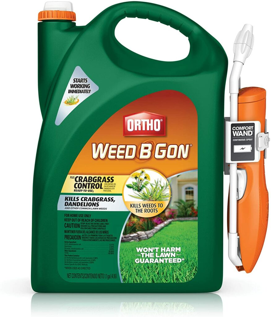 weed b gon crabgrass control