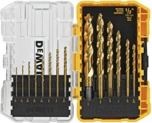 best drill bits for metal work dewalt